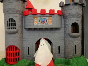 fantasma en castillo