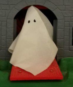fantasma en puerta