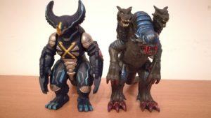 monstruos poderosos