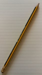 lápiz sin punta