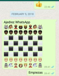 tablero whatsapp