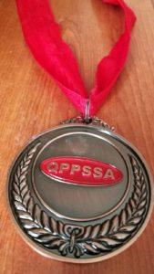 medalla de natación