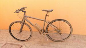 Bicicleta sucia