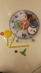 Reloj desarmado