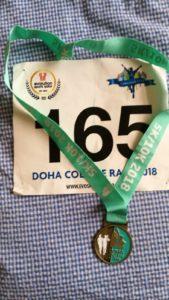 medalla de carrera