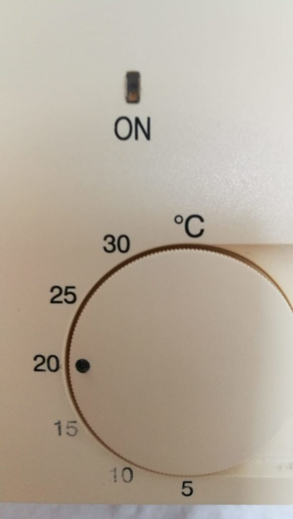 Escala de aire acondicionado