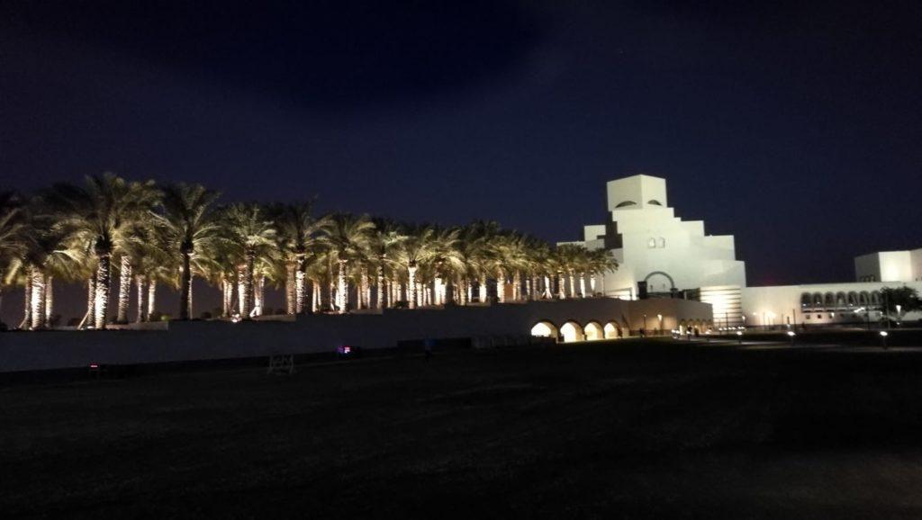 Amanecer en Doha.